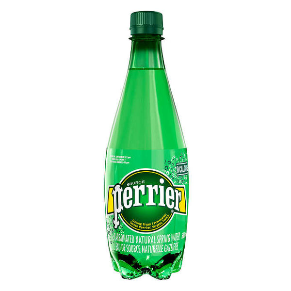 Perrier Carbonated Natural Spring Water 500 mL