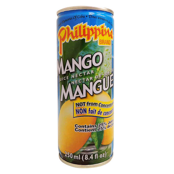 Philippine Brand Mango Juice Nectar 24 × 250 mL
