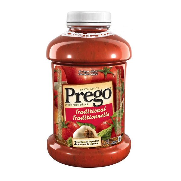 Prego No Sugar Added Pasta Sauce 1.75 L adea coffee online shopping
