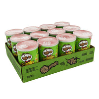 Pringles Sour Cream and Onion Potato Chips 12 × 68 g adea coffee