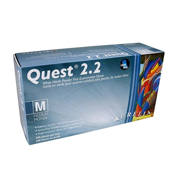 Quest 2.2 Nitrile medium size adea coffee