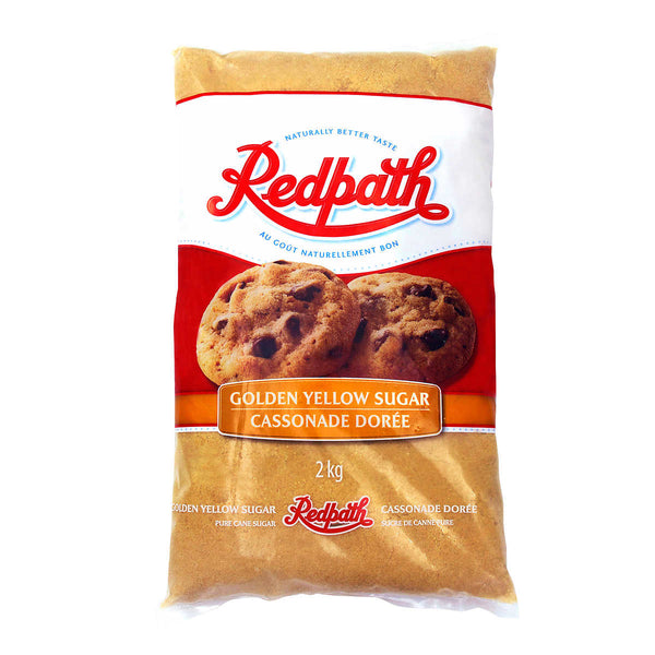 Redpath Golden Yellow Sugar 2 kg adea