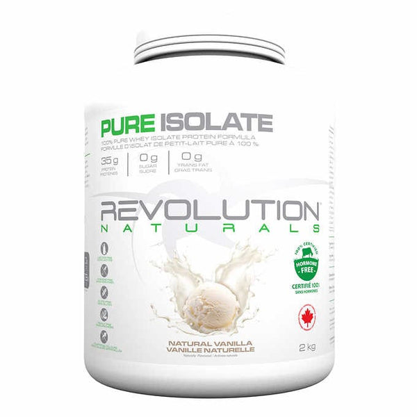 Revolution Naturals Pure Isolate Whey Protein Vanilla