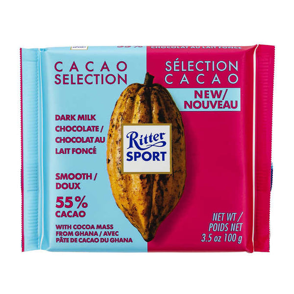 Ritter Sport Smooth Dark Milk Chocolate adea coffee