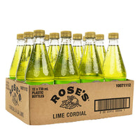 Rose's Lime Cordial 12 × 739 mL