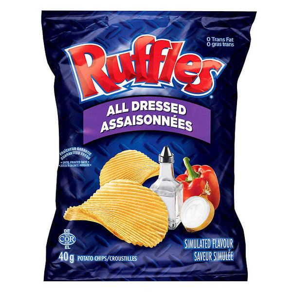 Ruffles All Dressed Chips  40 g