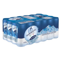 San Benedetto Sparkling Natural Mineral Water 24 × 330 mL