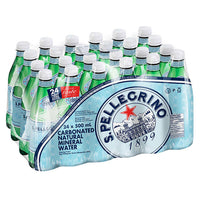 San Pellegrino Carbonated Mineral Water 24 × 500 mL