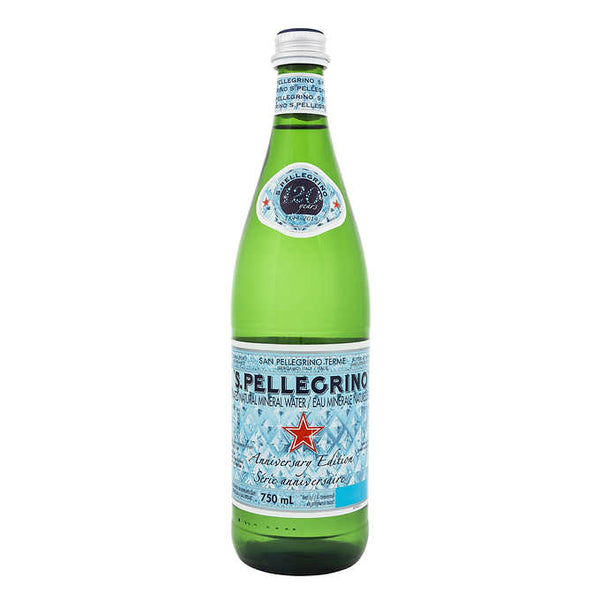 San Pellegrino Carbonated Mineral Water 750 mL