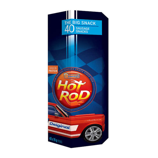 Schneider's Hot Rod Meat Sticks 40 × 19 g adea coffee