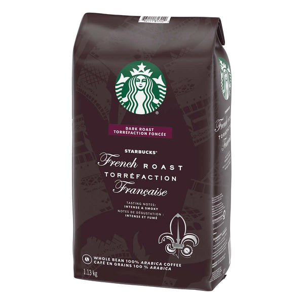 Starbucks French Roast Whole Bean Coffee, 1.13 kg