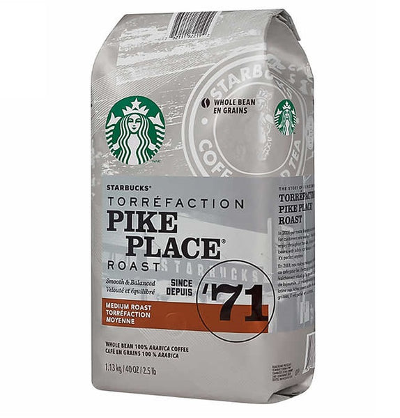 Starbucks Pike Place Coffee, 1.13 kg