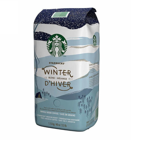 Starbucks Winter Blend Whole Bean 1.13 kg