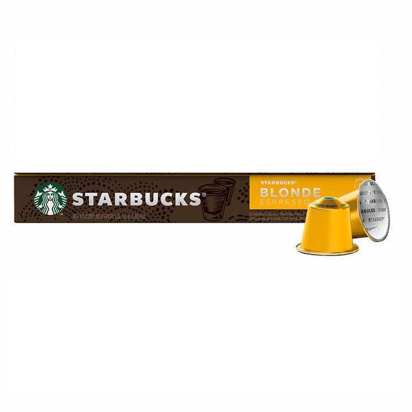 Starbucks by Nespresso Blonde Espresso Roast Capsules, 10 Count