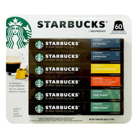 Starbucks by Nespresso Single Serve, 60-count