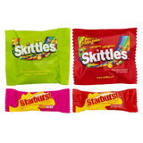 Starburst and Skittles Fun-sized Candy Variety Pack 1.77 kg
