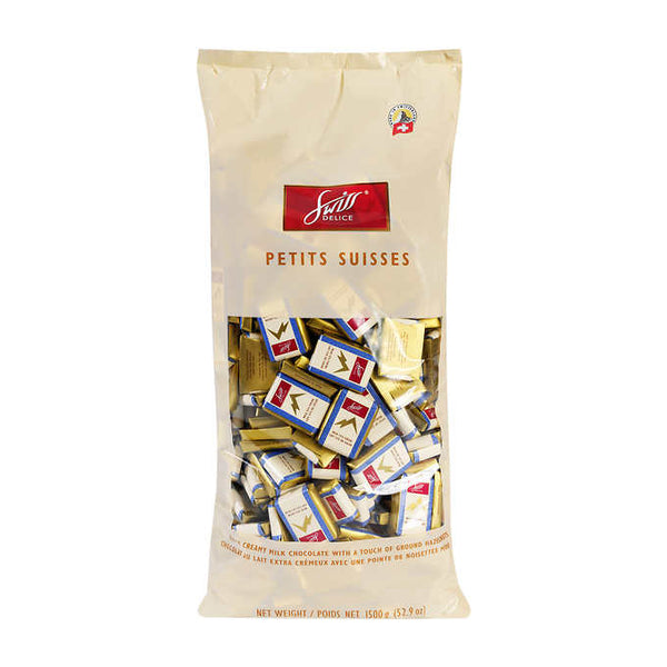 Swiss Delice Petits Suisses Milk Chocolate 1.5 kg