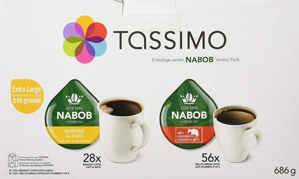 Tassimo Nabob T-discs, Pack of 84 Pods