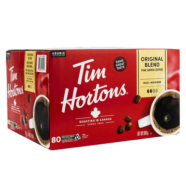 Tim Hortons Single-serve K-Cup Pods Pack of 80