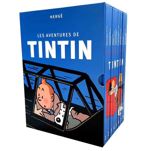 Tintin Complete 24 Adventures in 8 Book Boxed Set