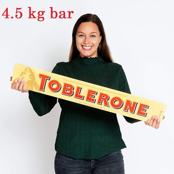 Toblerone Jumbo 4.5 Kg adea chicolate