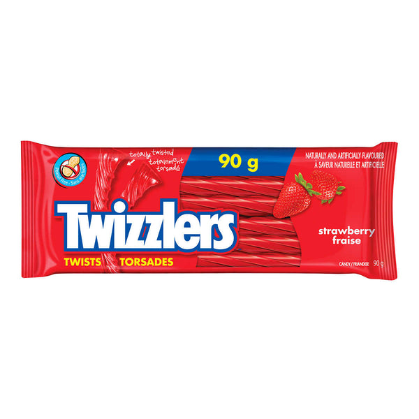Twizzlers Twists Strawberry Candy 90 g