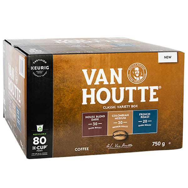 Van Houtte Classic Variety K-Cup Pods Pack of 80