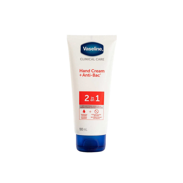 Vaseline Clinical Care Antibacterial Hand Cream 100 mL