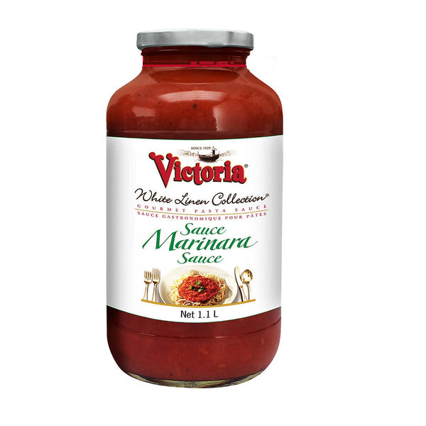 Victoria White Linen Collection Marinara Sauce 1.1 L adea