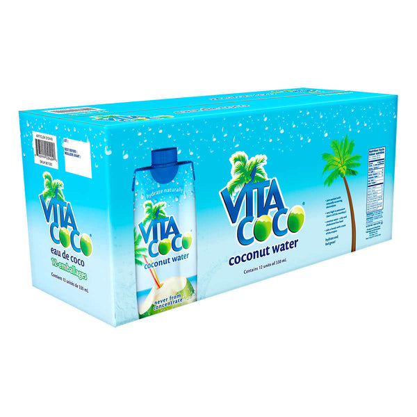 Vita Coco, Pure Coconut Water, 12 × 330 mL
