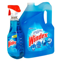 Windex Original Glass Cleaner 5 L + 950 mL adea cleaning supply