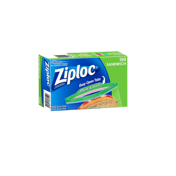 Ziploc Easy Open Sandwich Bags 4 x 150