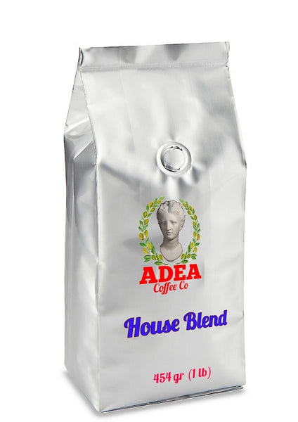 Adea Coffee House Blend Roasted Whole Bean 454 gr (1 lb)
