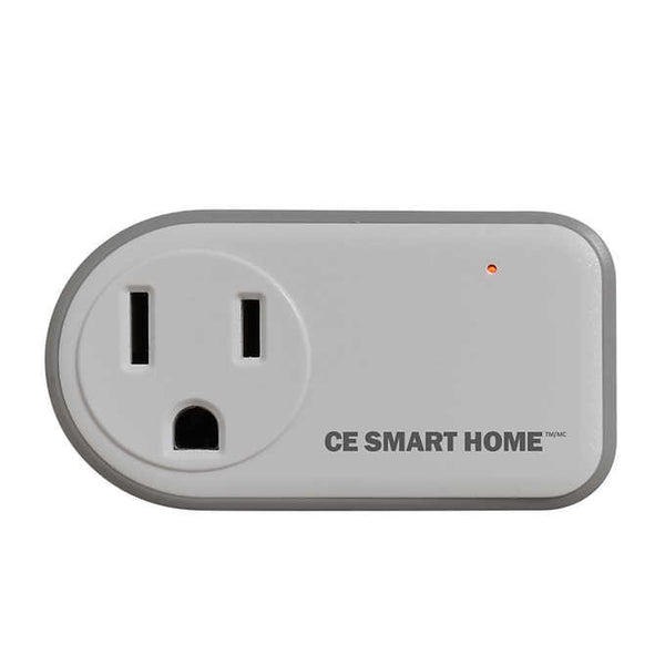 CE Smart Home Wi-Fi Smart Plug, 2-pack