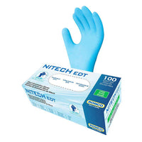 Ronco Nitech, Examination Gloves Large, 4-pack of 100