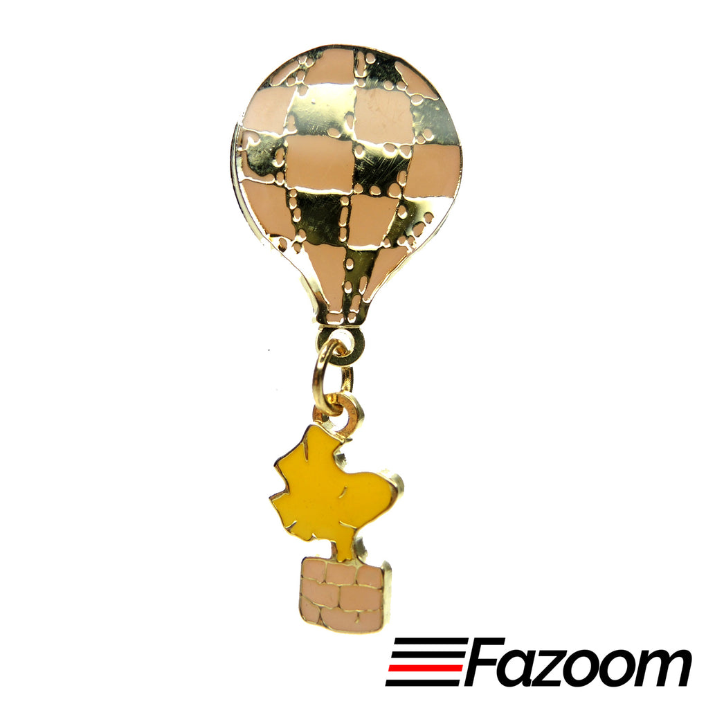 Peanuts Woodstock Hot Air Balloon Lapel Pin - Fazoom