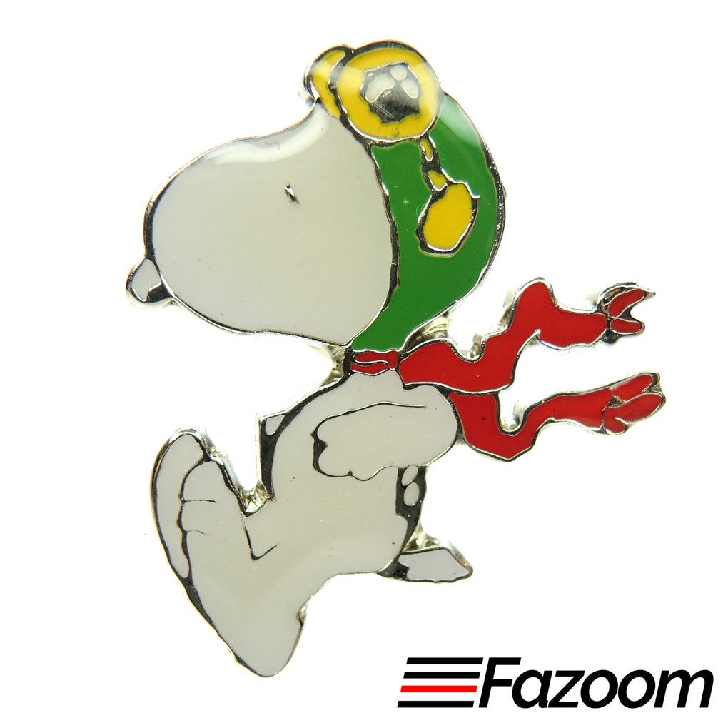 Peanuts Snoopy Flying Ace Lapel Pin