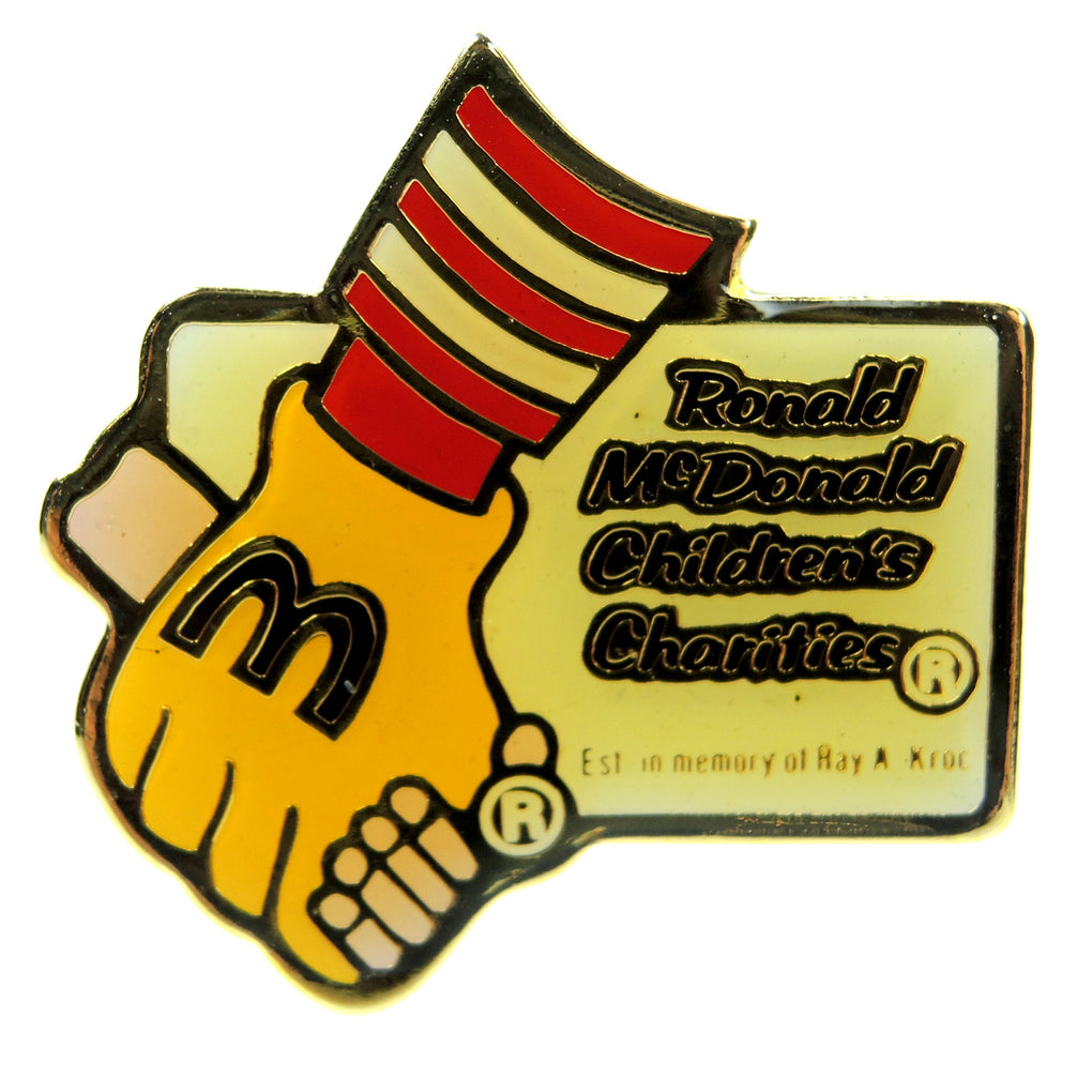 McDonald's Ronald McDonald Children's Charities RMMC Lapel Pin - Fazoom