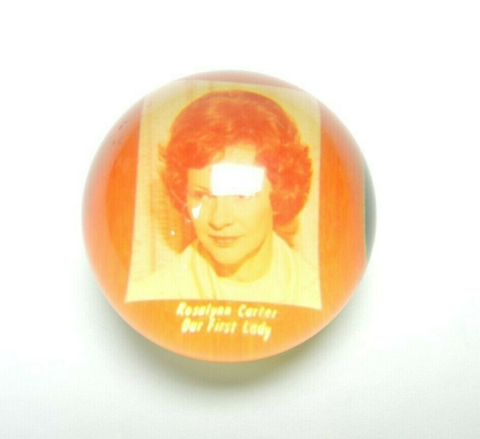 Rosalynn Carter Rosalyn Jimmy Campaign Paperweight Small Paper Weight Political - Fazoom
