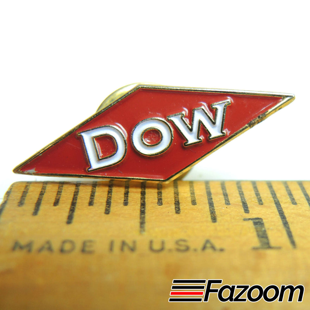 Dow Logo Small Lapel Pin - Fazoom