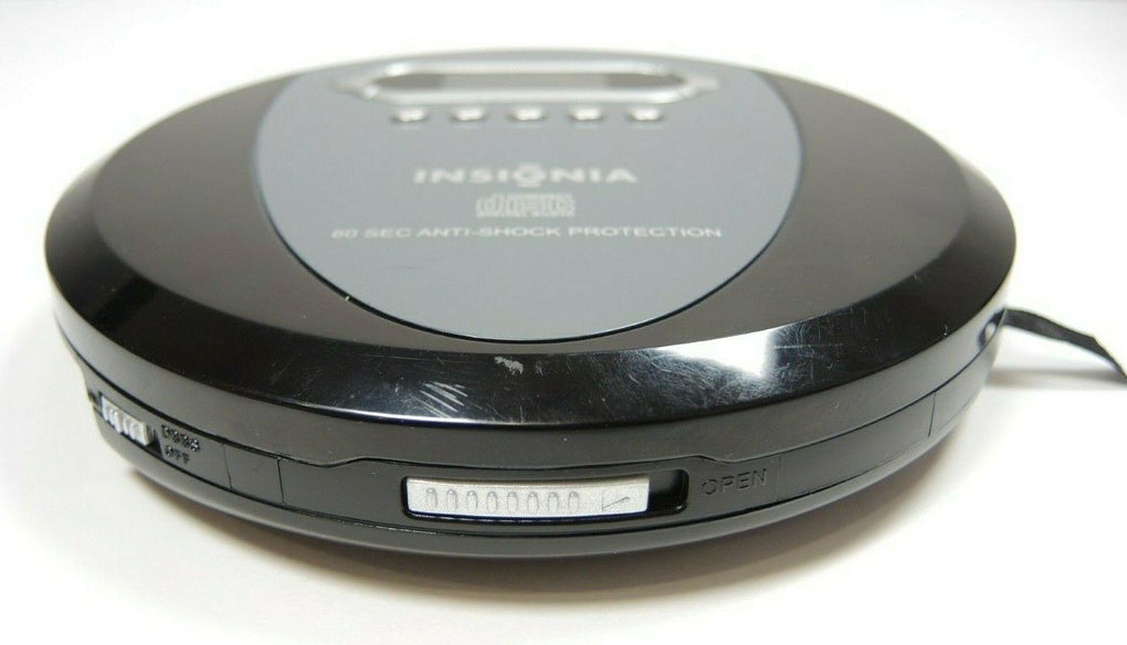 Insignia NS-P4112 Portable CD Player CD,CD-R, CD-RW With 60 Second Anti-Shock - fazoom