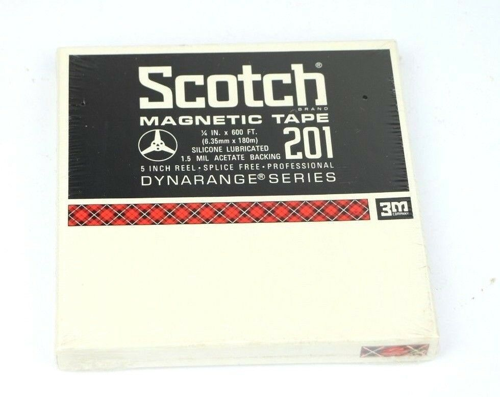 Scotch 201 Reel to Reel Tape * 1/4