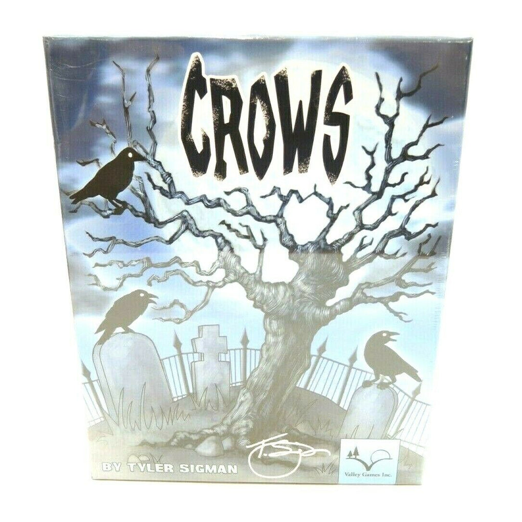 Crows (2010) ~ Valley Games Board Game by Tyler Sigman - Fazoom