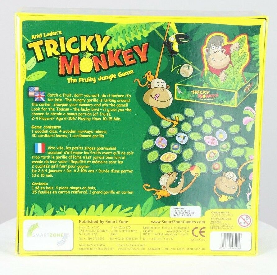 Tricky Monkey The Fruity Jungle Game 2011 by Ariel Laden from Smart Zone Games - fazoom