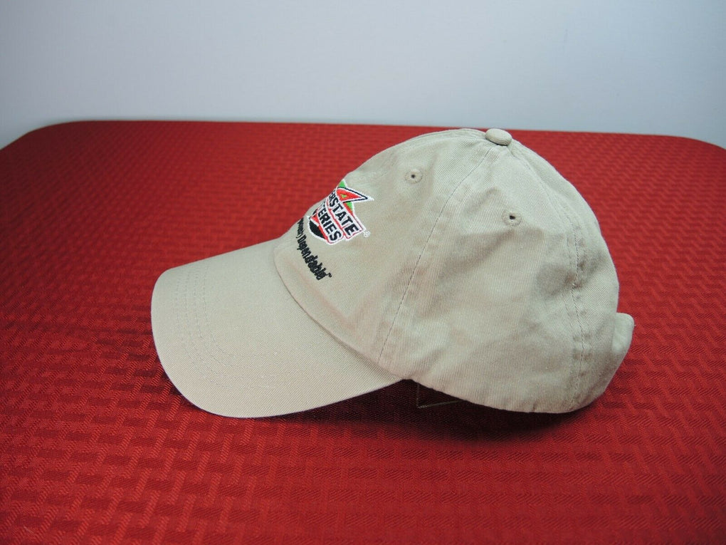 Interstate Batteries Tan Adjustable Strapback Hat Cap - fazoom