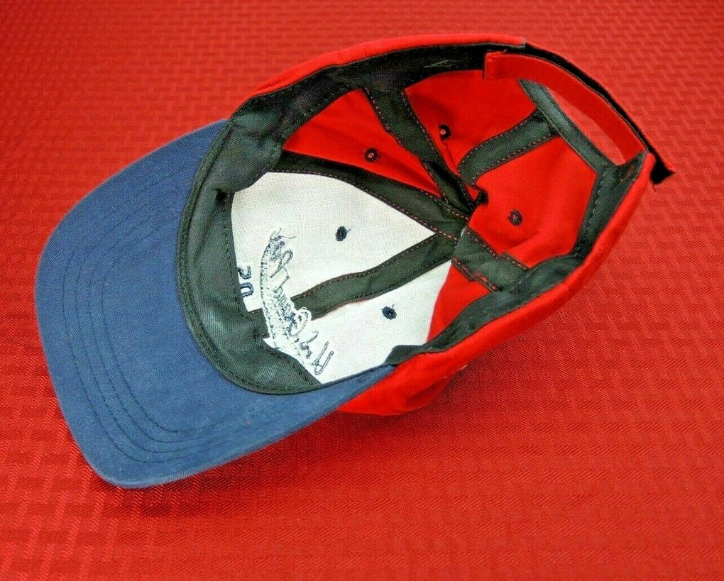 U.S. Grand Prix USAC Racing 2005 Adjustable Strapback Hat Cap - fazoom
