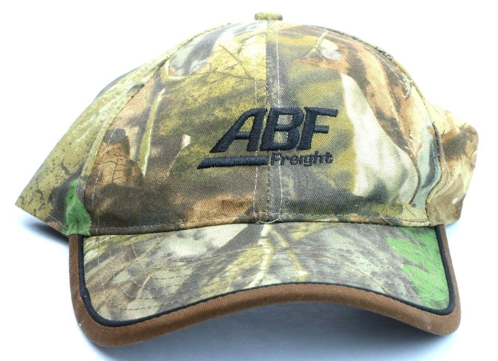 ABF Freight Trucking Trucker Camo Adjustable Snapback Hat Cap K-Products - fazoom