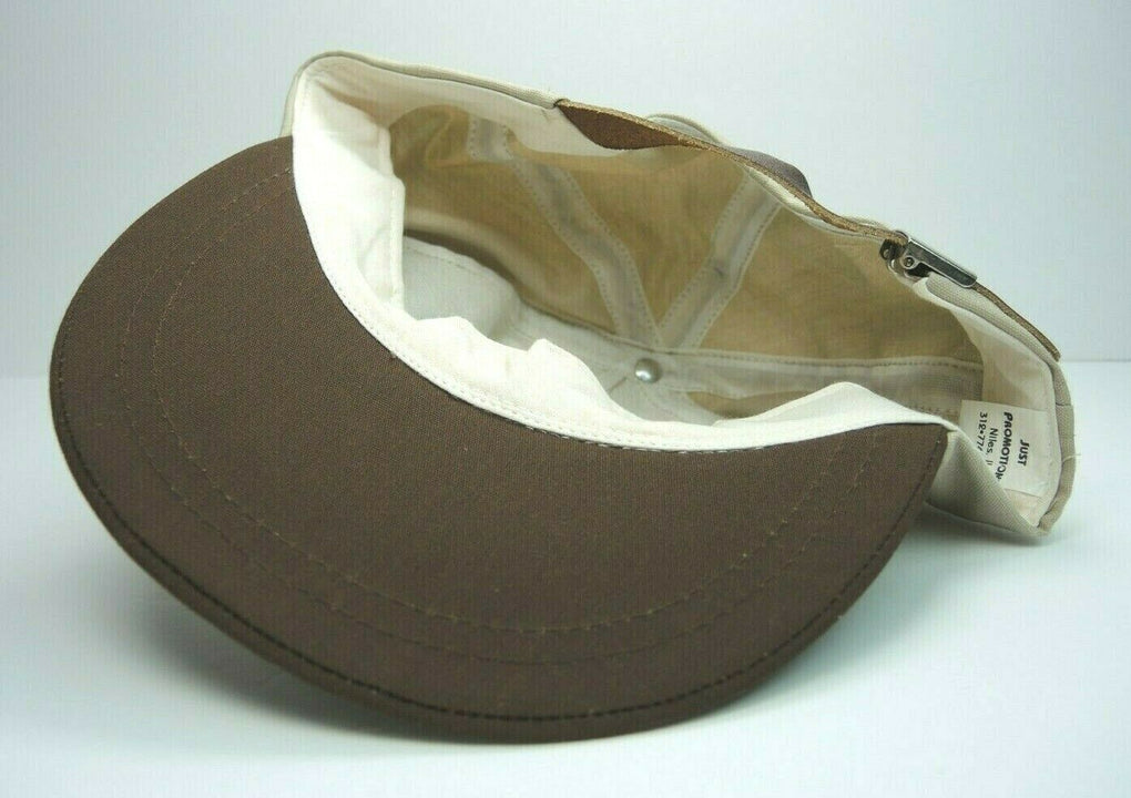 Swift Premium Brown N Serve Sausage MVP Vintage Beige Baseball Hat Cap Strapback - Fazoom