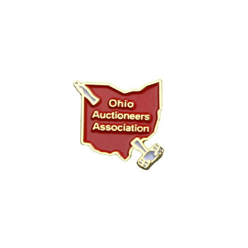 Ohio Auctioneers Association Small Lapel Pin - Fazoom