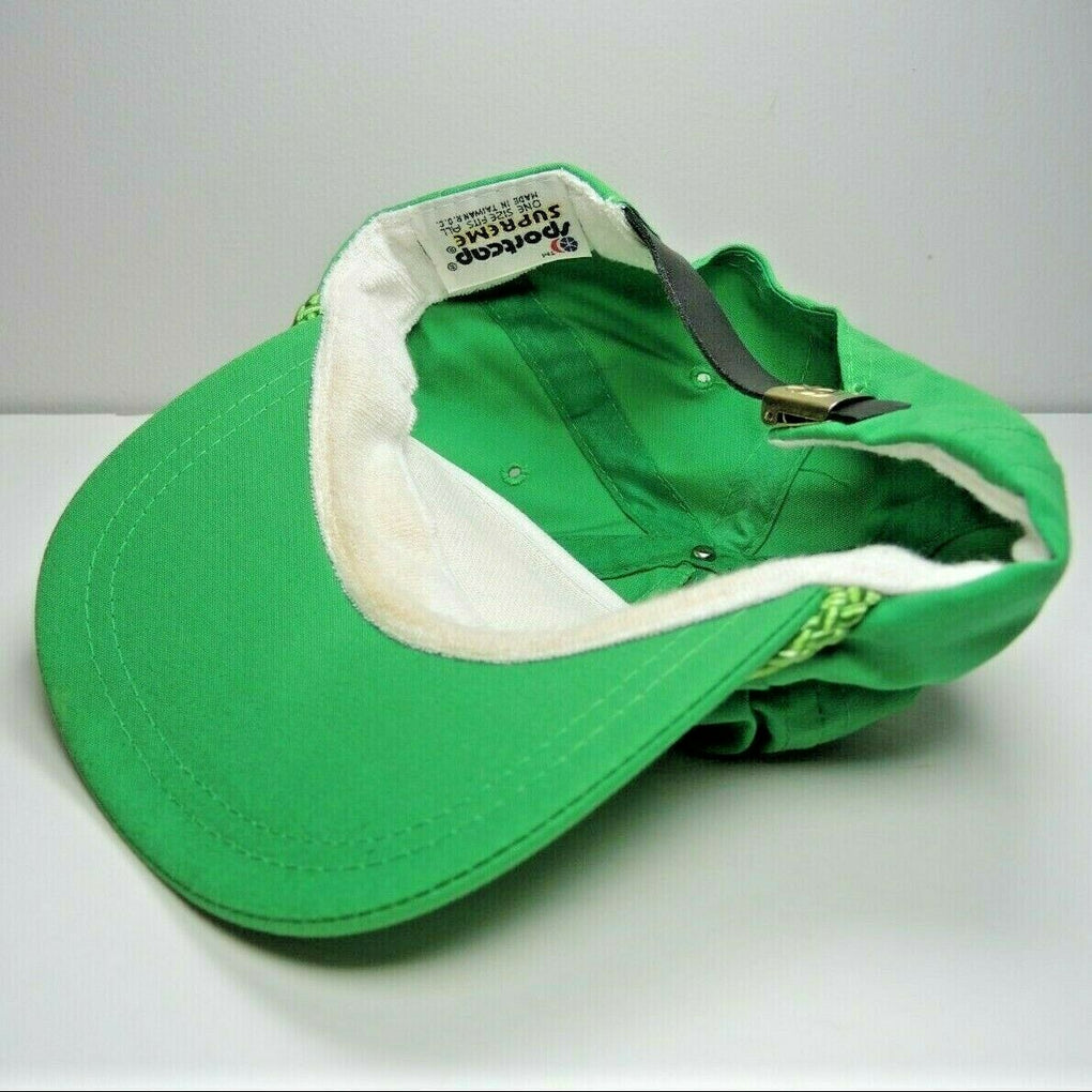 John Ascuaga's Nugget Casino Vintage Green Adjustable Baseball Hat Cap Strapback - fazoom